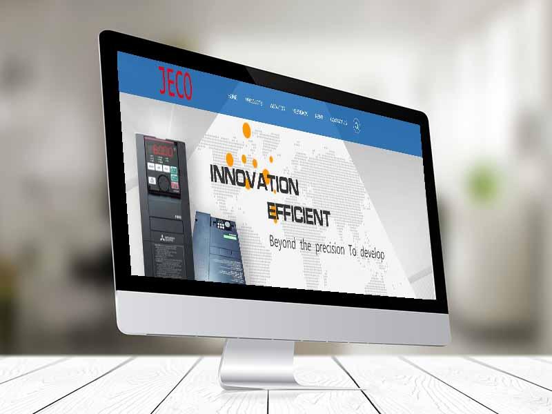 杰科仪器有限公司网站建设案例-外贸网站